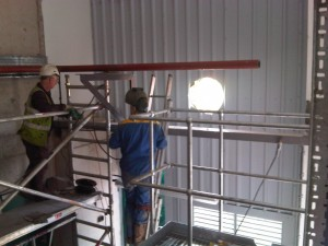 Sitework Pipework and Boiler Installation
