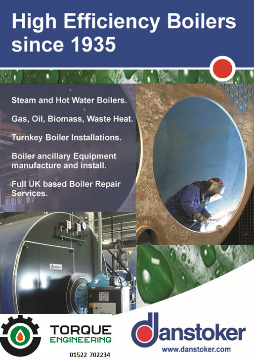 Danstoker Steam and Hot Water Boilers | Torque Engineering